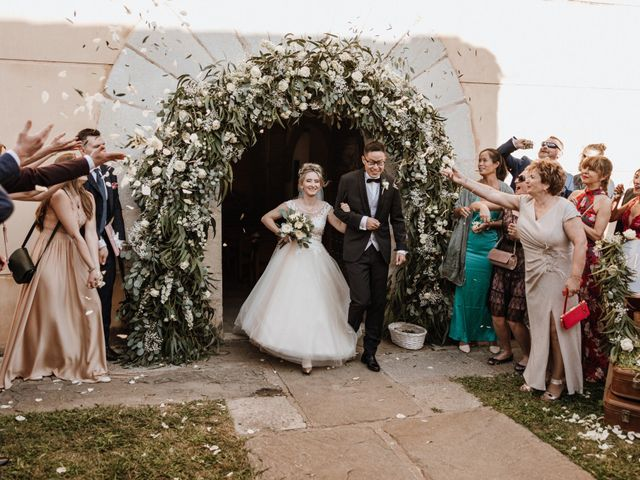 La boda de Martín y Karolina en Sant Gregori (Municipio), Girona 68