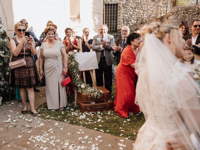 La boda de Martín y Karolina en Sant Gregori (Municipio), Girona 72