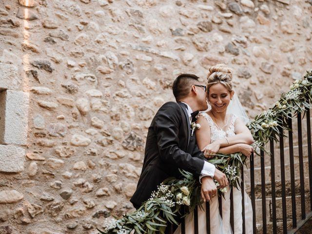 La boda de Martín y Karolina en Sant Gregori (Municipio), Girona 80