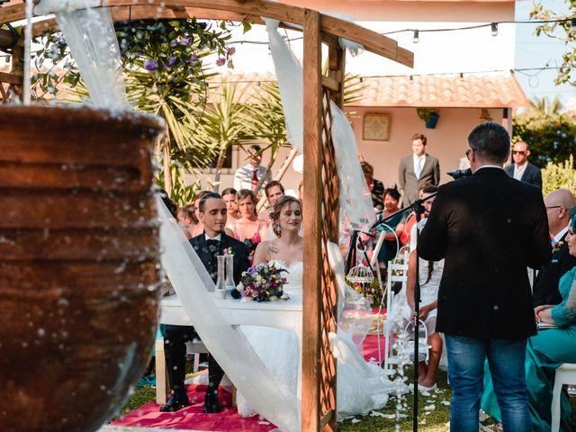 La boda de María y Jony en Conil De La Frontera, Cádiz 25