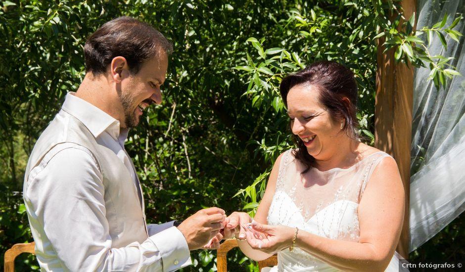 La boda de David y Veronica en Navacepedilla De Corneja, Ávila