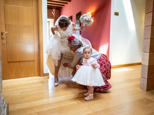La boda de Álex y Sabina en A Arnoia, Orense 25