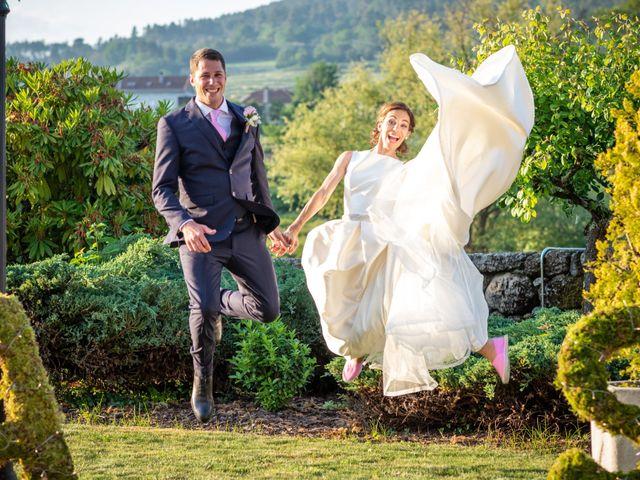 La boda de Álex y Sabina en A Arnoia, Orense 2