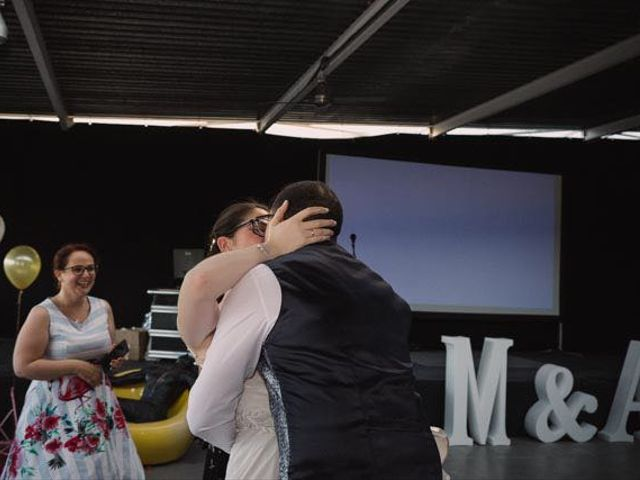 La boda de Alex y Maria en Madrid, Madrid 35
