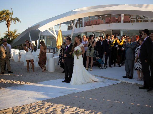 La boda de Jose y Cristina en La Manga Del Mar Menor, Murcia 3