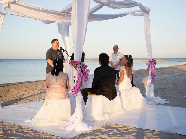 La boda de Jose y Cristina en La Manga Del Mar Menor, Murcia 1