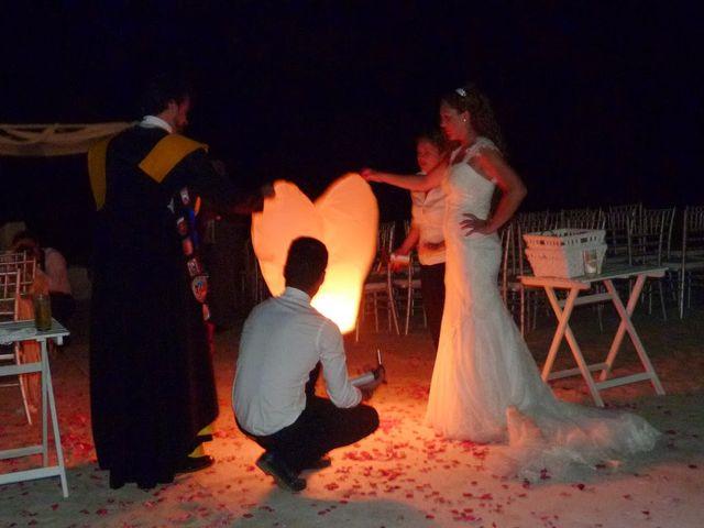La boda de Jose y Cristina en La Manga Del Mar Menor, Murcia 2
