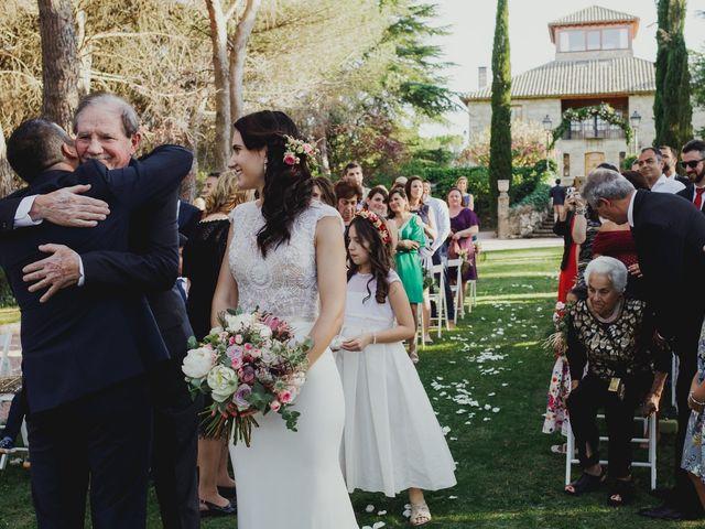 La boda de Fabio y Natacha en Galapagar, Madrid 25