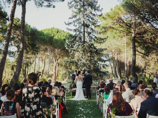 La boda de Fabio y Natacha en Galapagar, Madrid 36