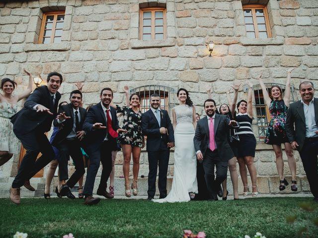 La boda de Fabio y Natacha en Galapagar, Madrid 43