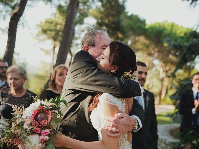 La boda de Fabio y Natacha en Galapagar, Madrid 44