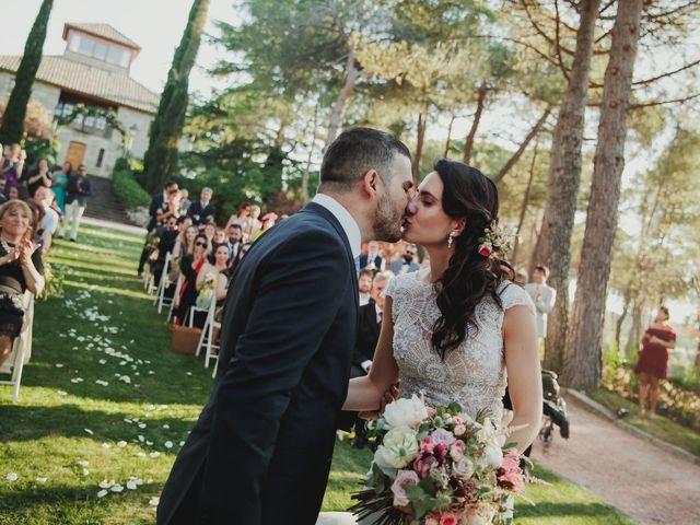 La boda de Fabio y Natacha en Galapagar, Madrid 56