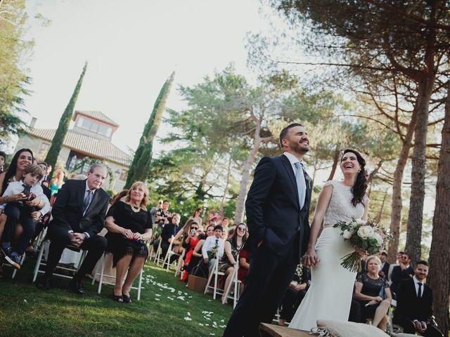 La boda de Fabio y Natacha en Galapagar, Madrid 1