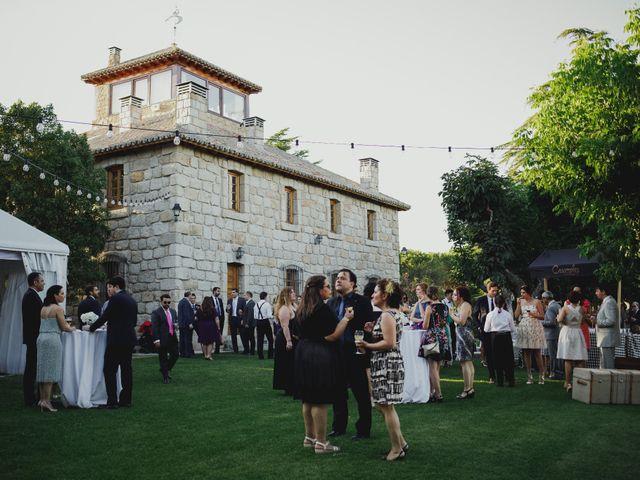 La boda de Fabio y Natacha en Galapagar, Madrid 64