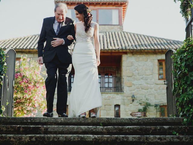 La boda de Fabio y Natacha en Galapagar, Madrid 71