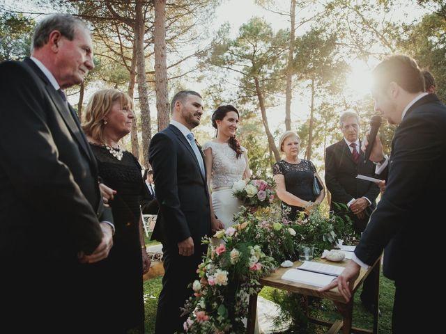 La boda de Fabio y Natacha en Galapagar, Madrid 86