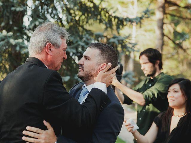 La boda de Fabio y Natacha en Galapagar, Madrid 124