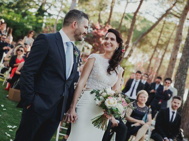 La boda de Fabio y Natacha en Galapagar, Madrid 126