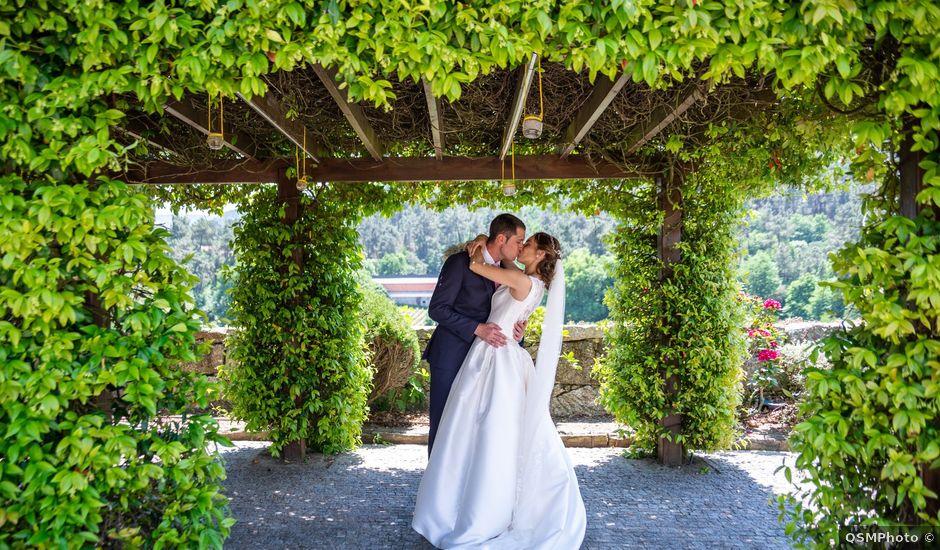 La boda de Álex y Sabina en A Arnoia, Orense