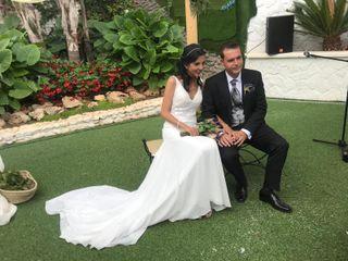 La boda de Cristina y Juando