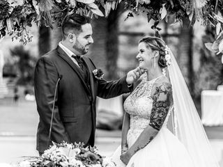 La boda de René y Lourdes
