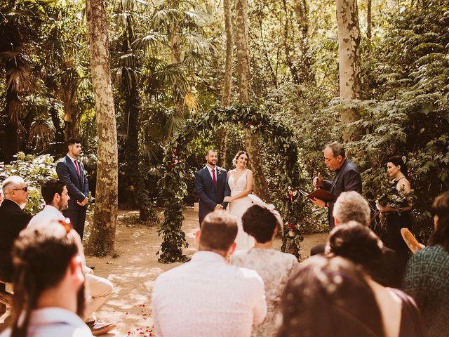 La boda de Ben y Felise en Arbucies, Girona 1