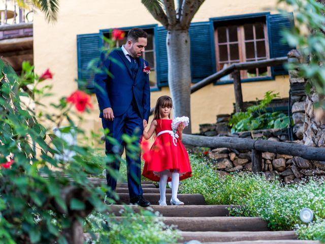 La boda de Lourdes y René en Galdar, Las Palmas 36