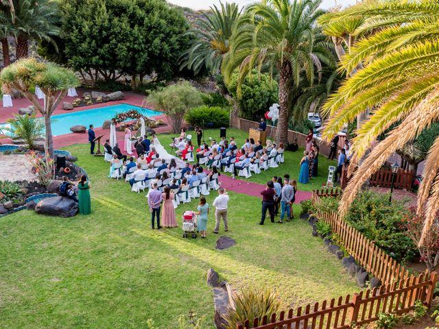 La boda de Lourdes y René en Galdar, Las Palmas 52