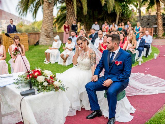 La boda de Lourdes y René en Galdar, Las Palmas 53