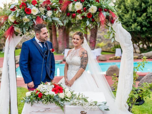 La boda de Lourdes y René en Galdar, Las Palmas 55