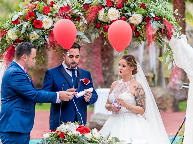 La boda de Lourdes y René en Galdar, Las Palmas 58