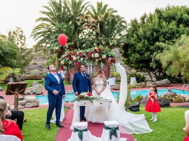 La boda de Lourdes y René en Galdar, Las Palmas 60