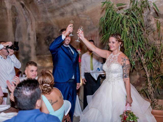 La boda de Lourdes y René en Galdar, Las Palmas 70