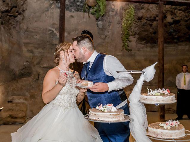 La boda de Lourdes y René en Galdar, Las Palmas 73