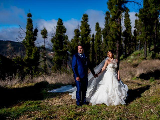 La boda de Lourdes y René en Galdar, Las Palmas 80