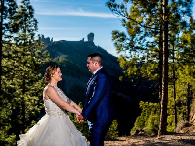 La boda de Lourdes y René en Galdar, Las Palmas 98