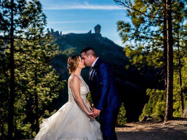 La boda de Lourdes y René en Galdar, Las Palmas 99