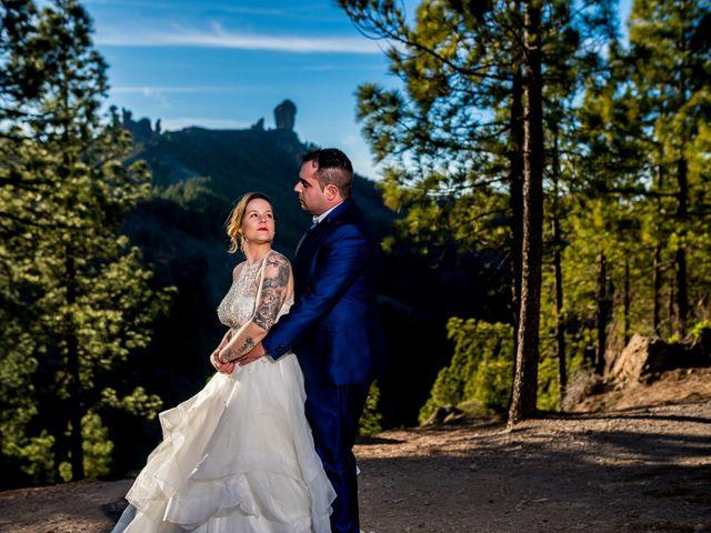 La boda de Lourdes y René en Galdar, Las Palmas 100