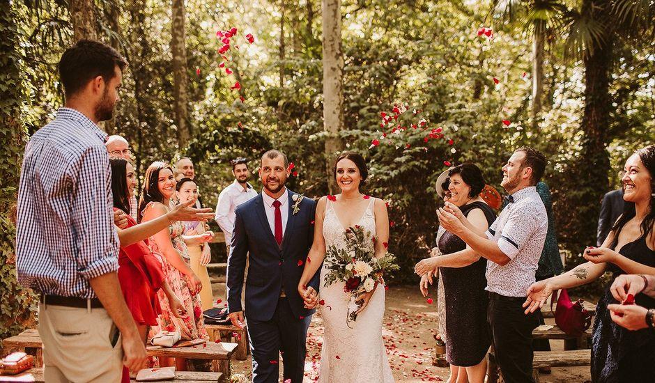 La boda de Ben y Felise en Arbucies, Girona