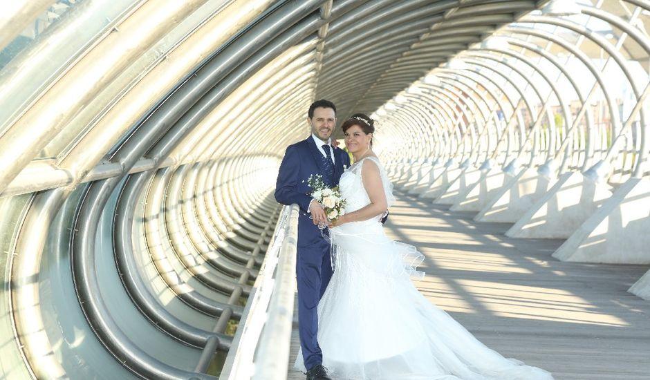 La boda de Gerardo  y Edilma  en Zaragoza, Zaragoza