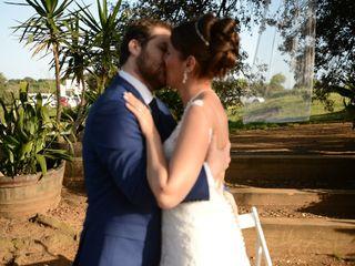 La boda de Maud y Ferran