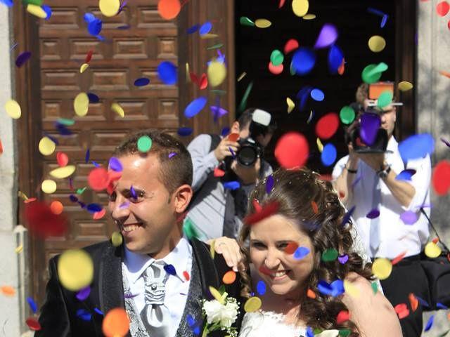 La boda de Javier y María José en Fuenlabrada, Madrid 2
