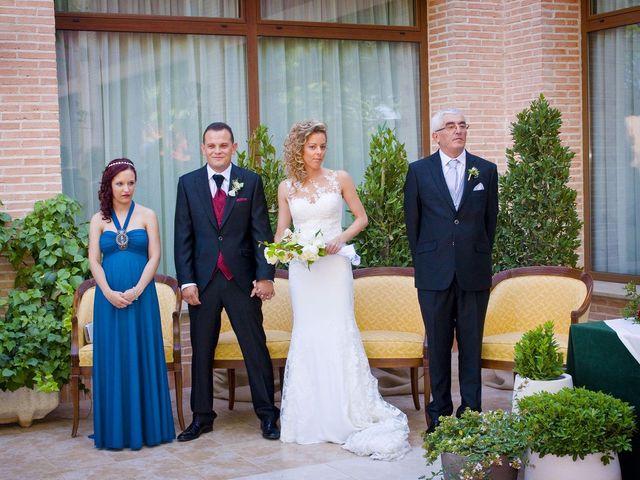 La boda de David y Cristina en Membrilla, Ciudad Real 20