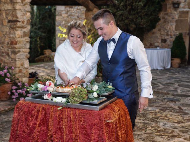 La boda de Alex y Lidia en Canet D'adri, Girona 39