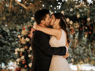 La boda de Cristina y Aaron
