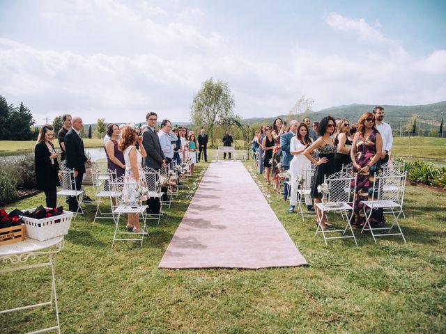 La boda de Javier y Cristina en Santa Coloma De Farners, Girona 38