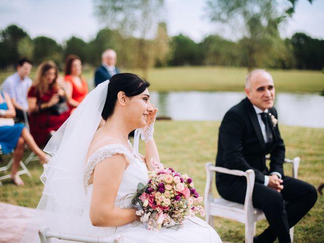 La boda de Javier y Cristina en Santa Coloma De Farners, Girona 45