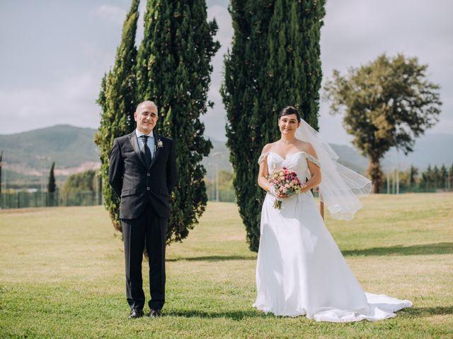 La boda de Javier y Cristina en Santa Coloma De Farners, Girona 55