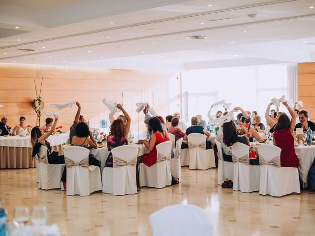 La boda de Javier y Cristina en Santa Coloma De Farners, Girona 79