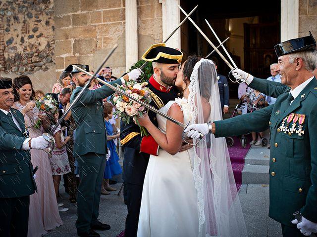 La boda de Raquel y Jose Antonio en Montemolin, Badajoz 21